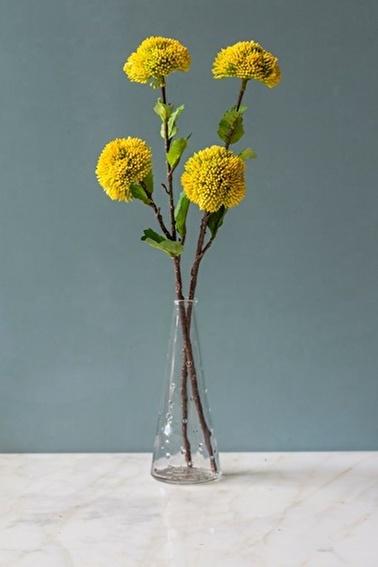 Arma House Voluptatem Sarı Yapay Çiçek Sarı